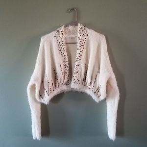 Anthropologie Knitted and Knotted Soiree Cardigan